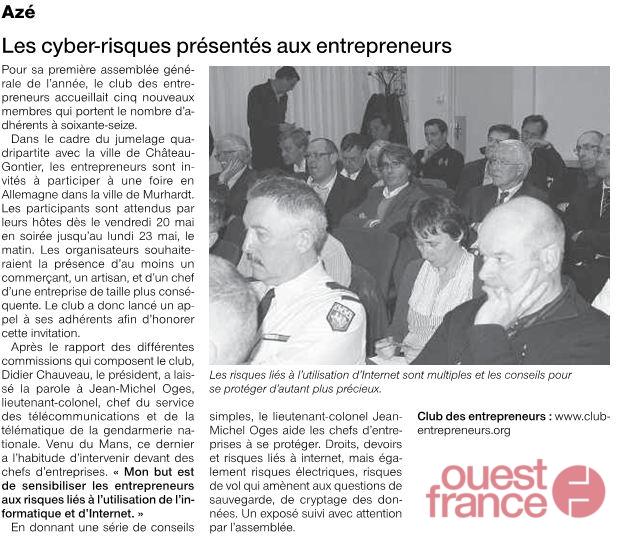 110324-ouest-france-reunion-club-entrepreneurs- intelligence économique