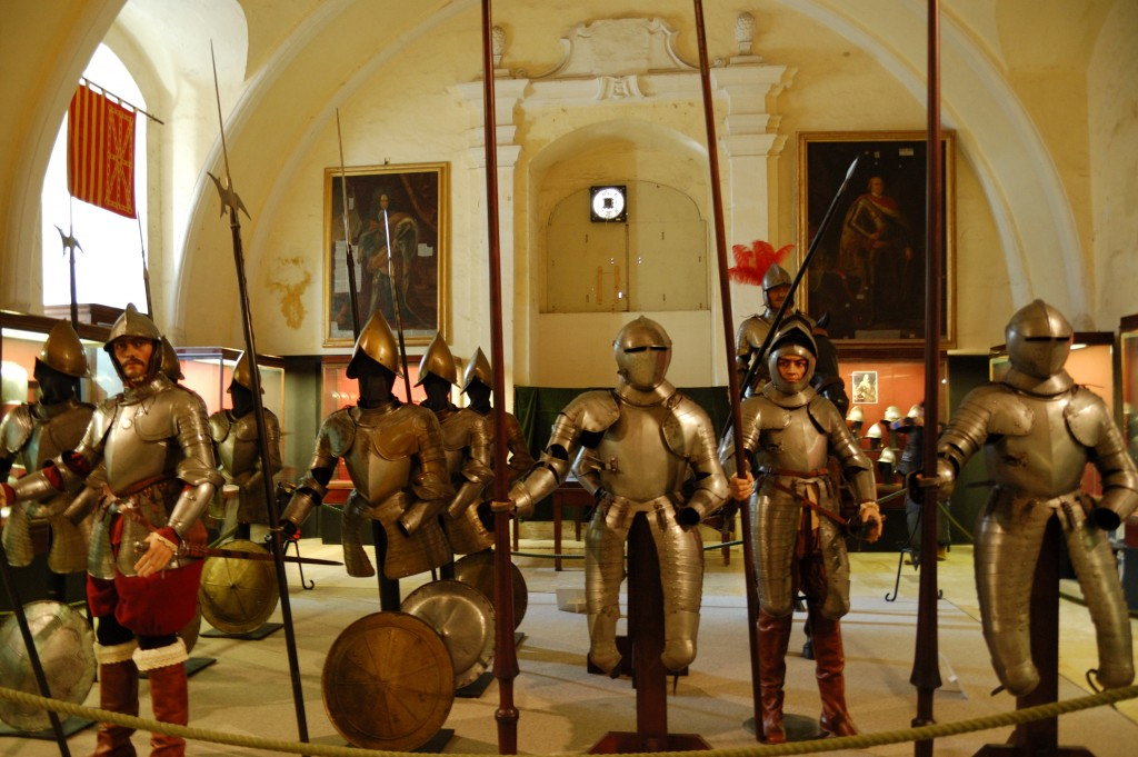 Chevalier en armures musée de La Valette